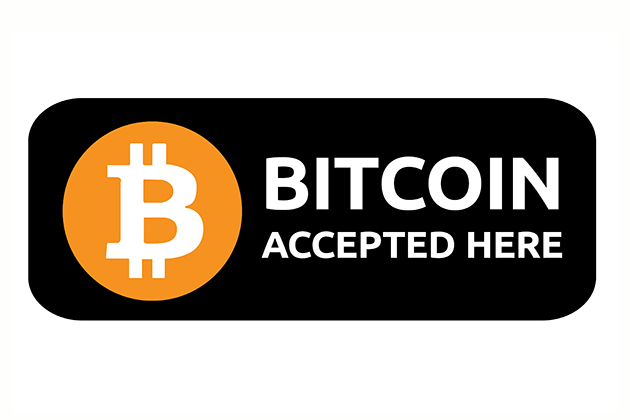 3 - Bitcoin payment available on all our sites!