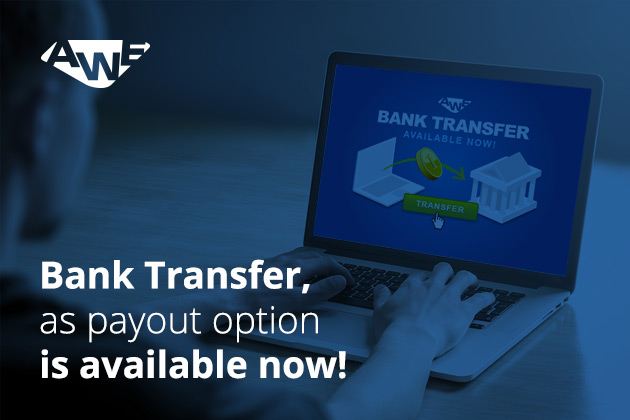 1 - Get paid via bank transfer