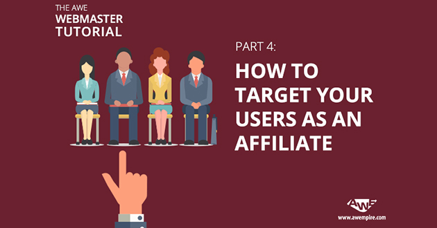 How to target your users as an affiliate