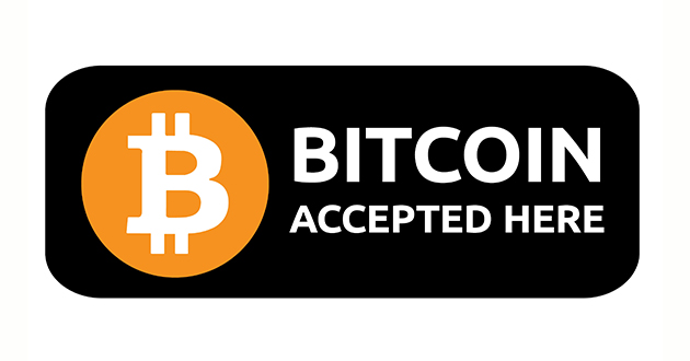 Bitcoin payment available on all our sites!