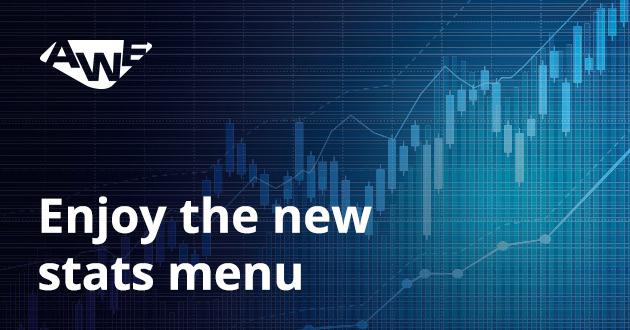 Enjoy the new stats menu!